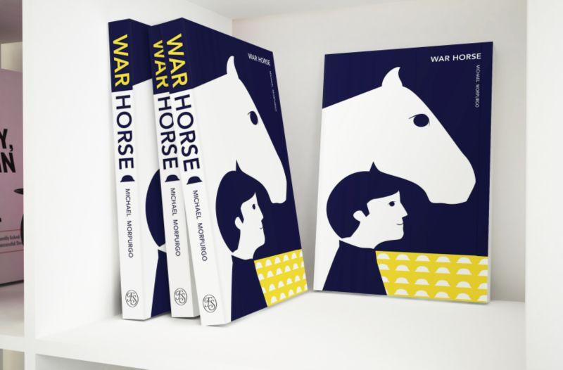 War Horse Book Binding Design