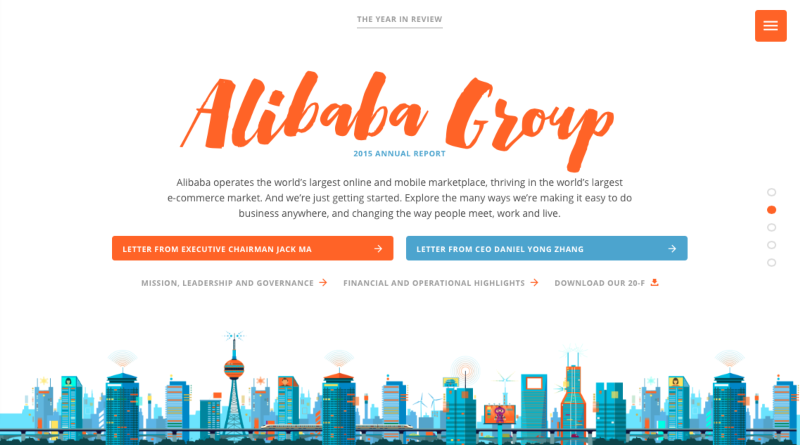 Alibaba Annual Report - Folio