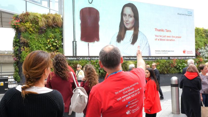 The Virtual Blood Donation