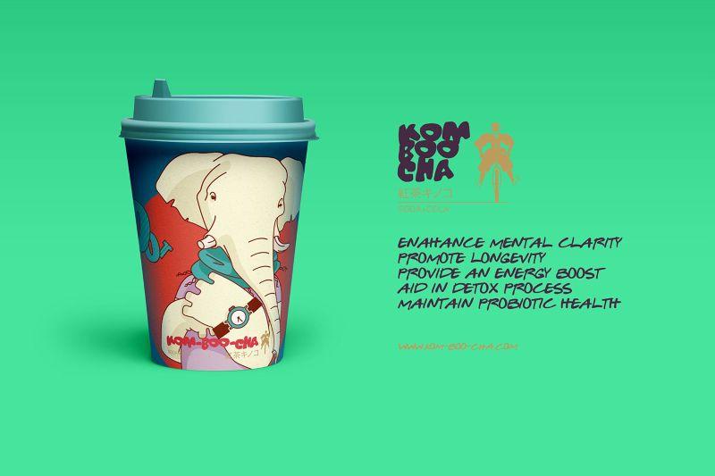 KOM-BOO-CHA™ / Original animals characters