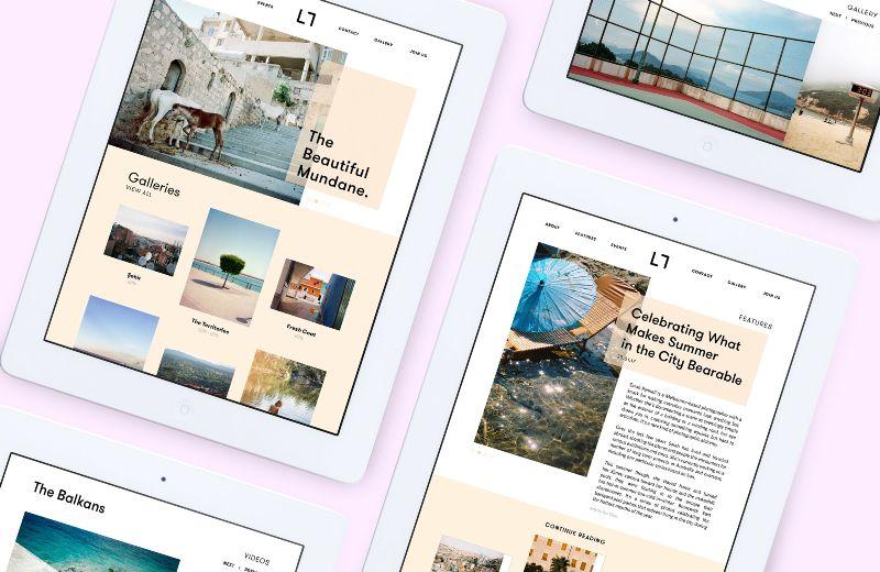 BSBT : website themes