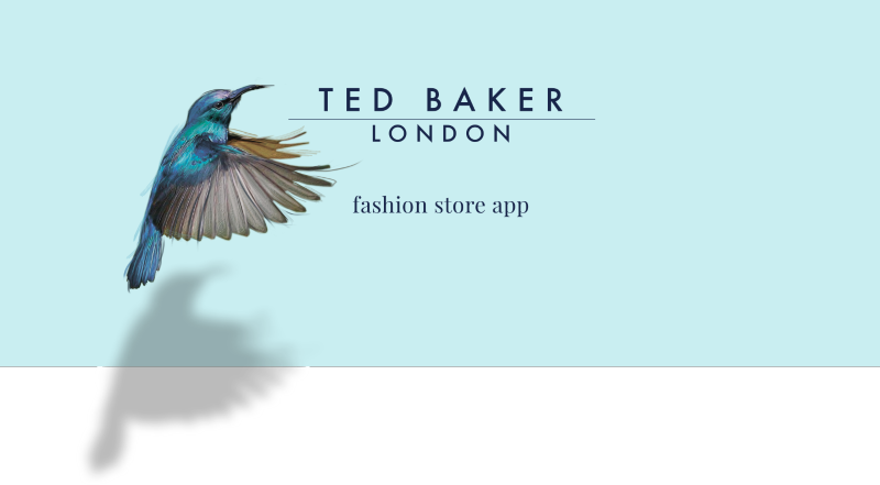 TED BAKER fashion store app design