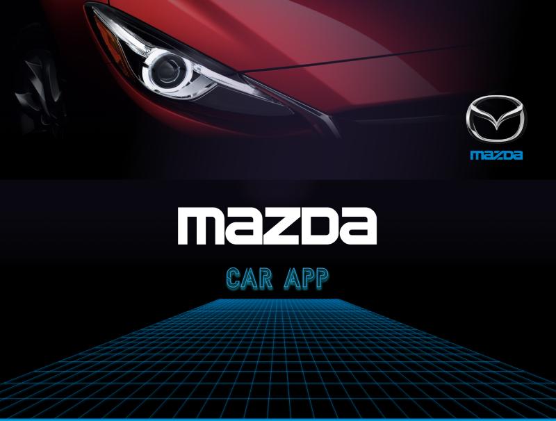 Mazda Personal Assistant Car App