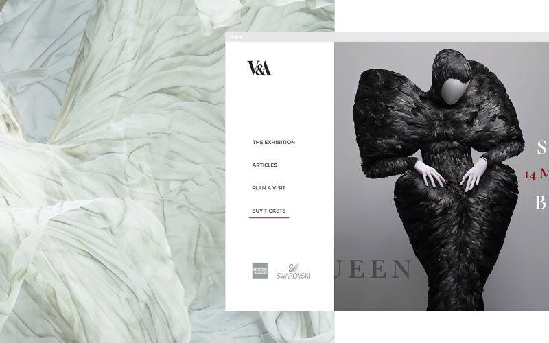 V&A x Alexandre McQueen: Savage Beauty