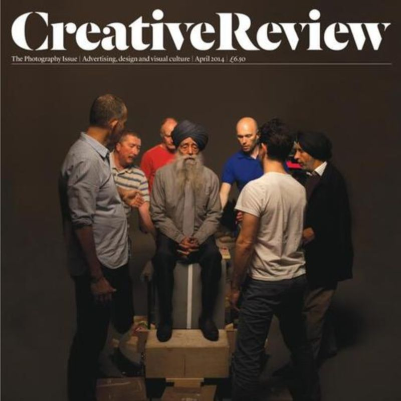 Creative Review, The Photography Issue - My photograph front cover,  April 14
