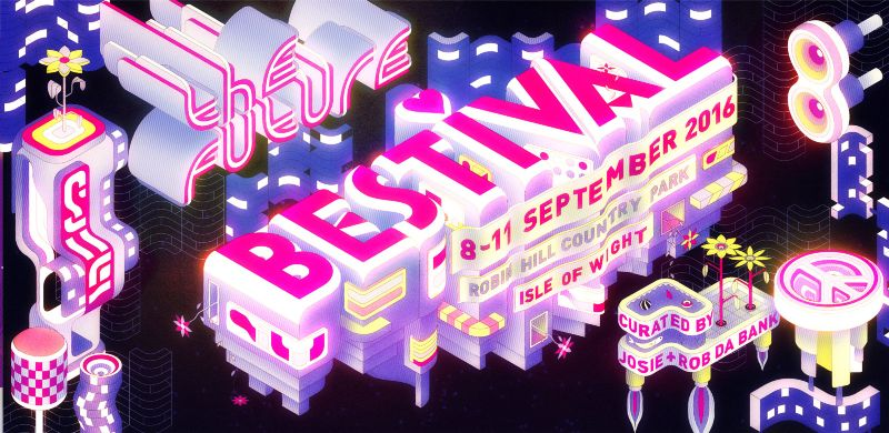 Bestival Branding by Charles Williams