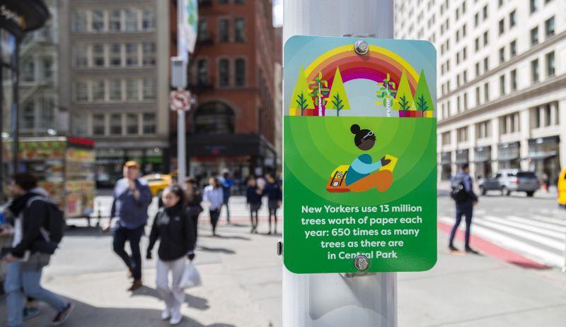 NYCDOT : Earth Day
