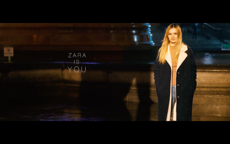 'Zara is you' campaign
