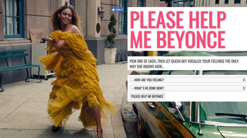 Please Help Me Beyonce
