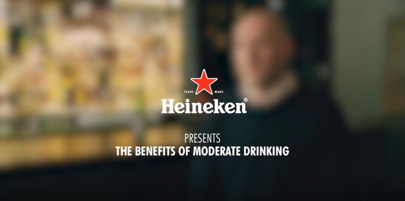 Heineken #moderatedrinkerswanted campaign, 2016