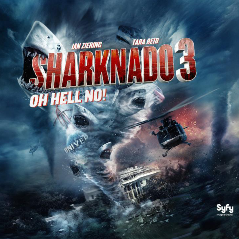Syfy Channel Sharknado 3