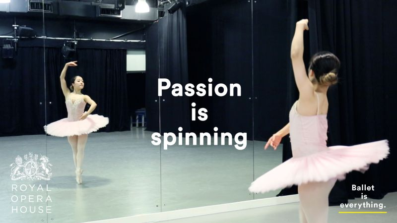 Ballet is everything
