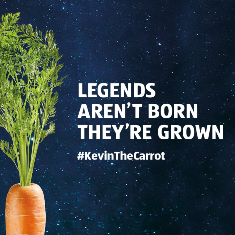 Aldi Kevin The Carrot