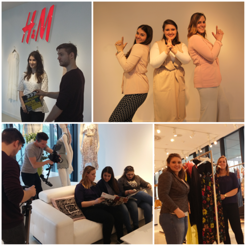 •	Hungary biggest recruiting sites asked me to be their stylist for one of their projects where they collaborated with H&M