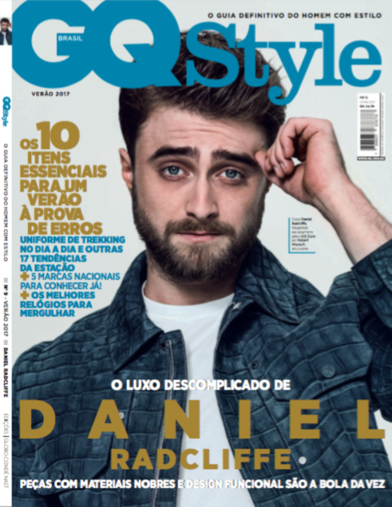 Daniel Radcliffe for the cover GQ Brazil