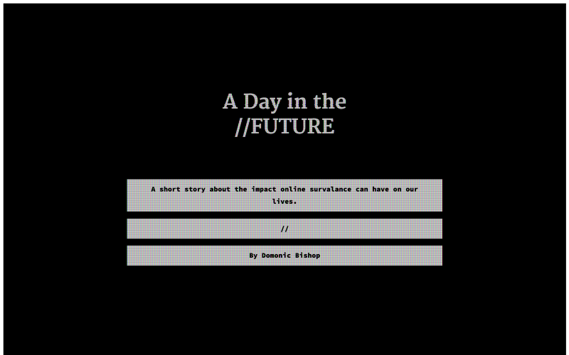 A Day in the Future