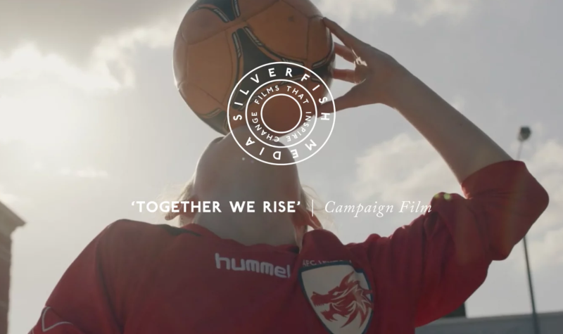 Together We Rise | Girls Football Promo