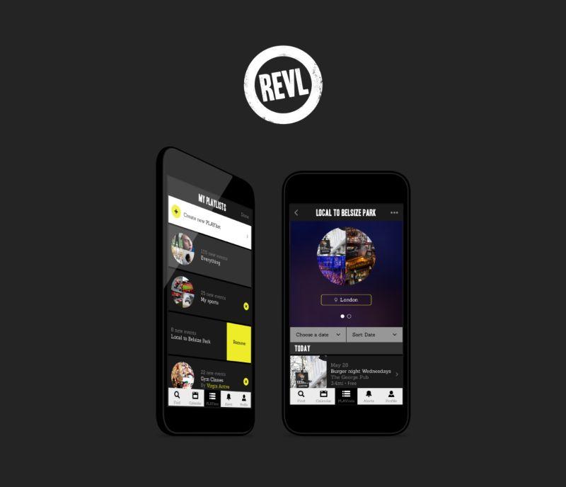 REVL The Events App