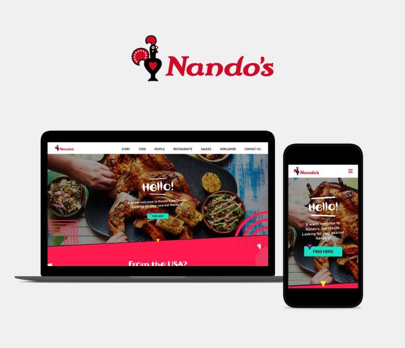 Nandos Global Website