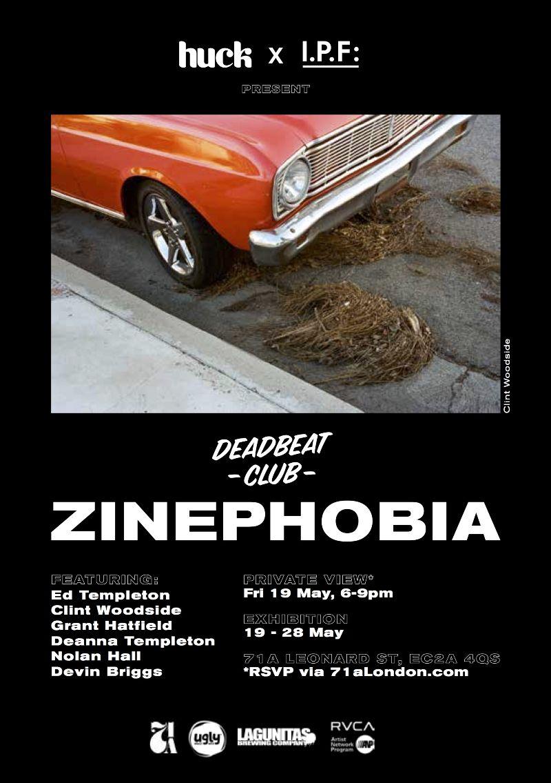 RVCA & Deadbeat Club present: Zineophobia