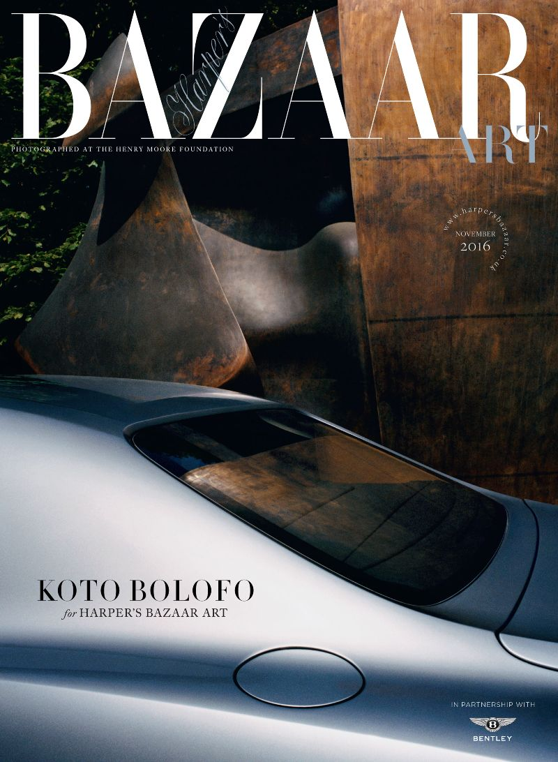 Harper's Bazaar Art x Bentley