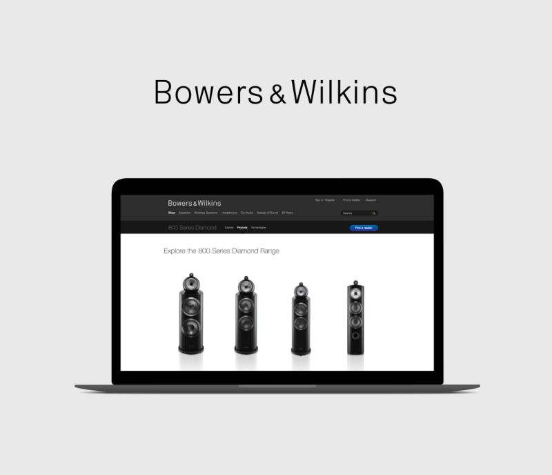 B&W Product Relaunch