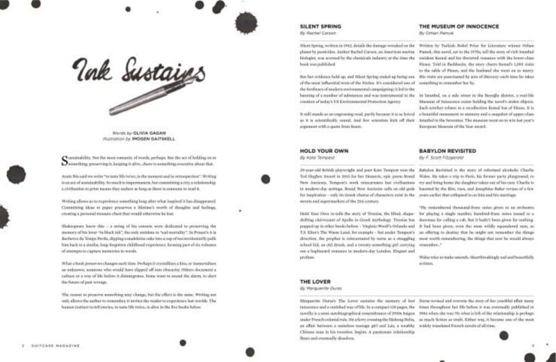 SUITCASE issue 12, 'Ink Sustains'