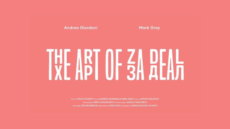 The Art of Za Deal
