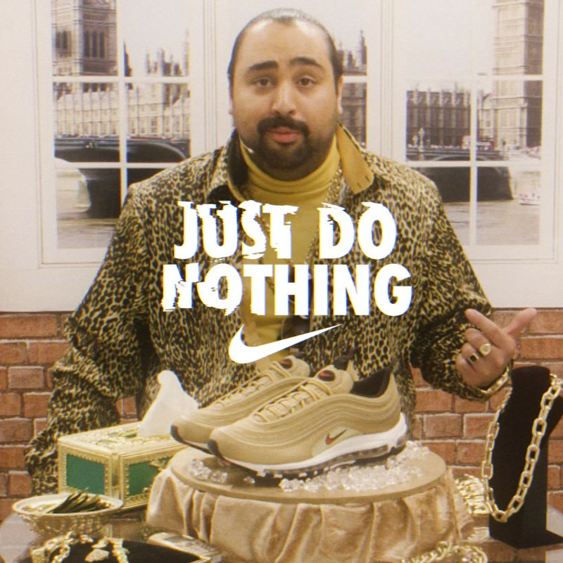 Dropping exclusive access to the Nike Gold Bullets with Chabuddy G (the G stands for girth)