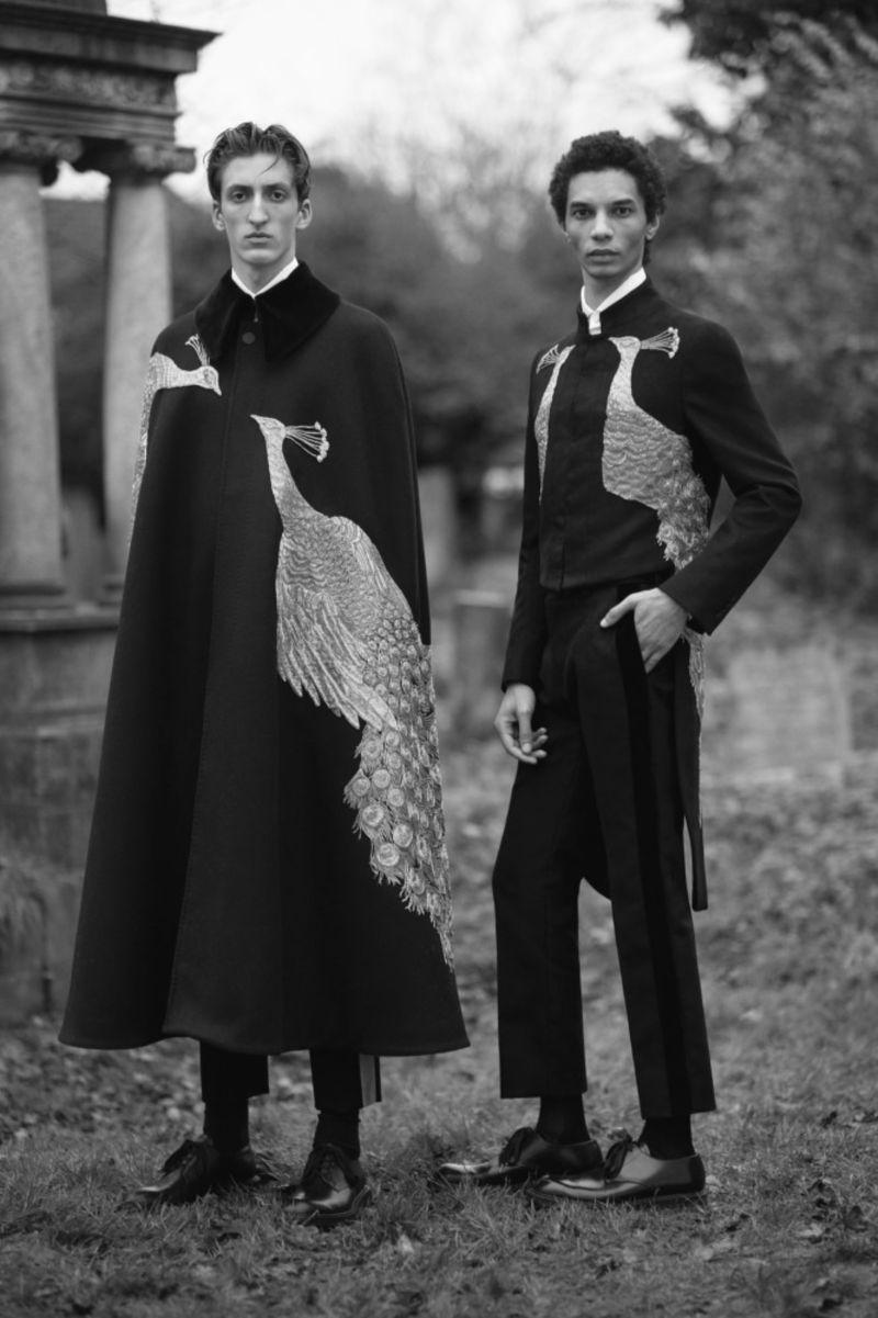 Alexander McQueen A/W 2017 Lookbook