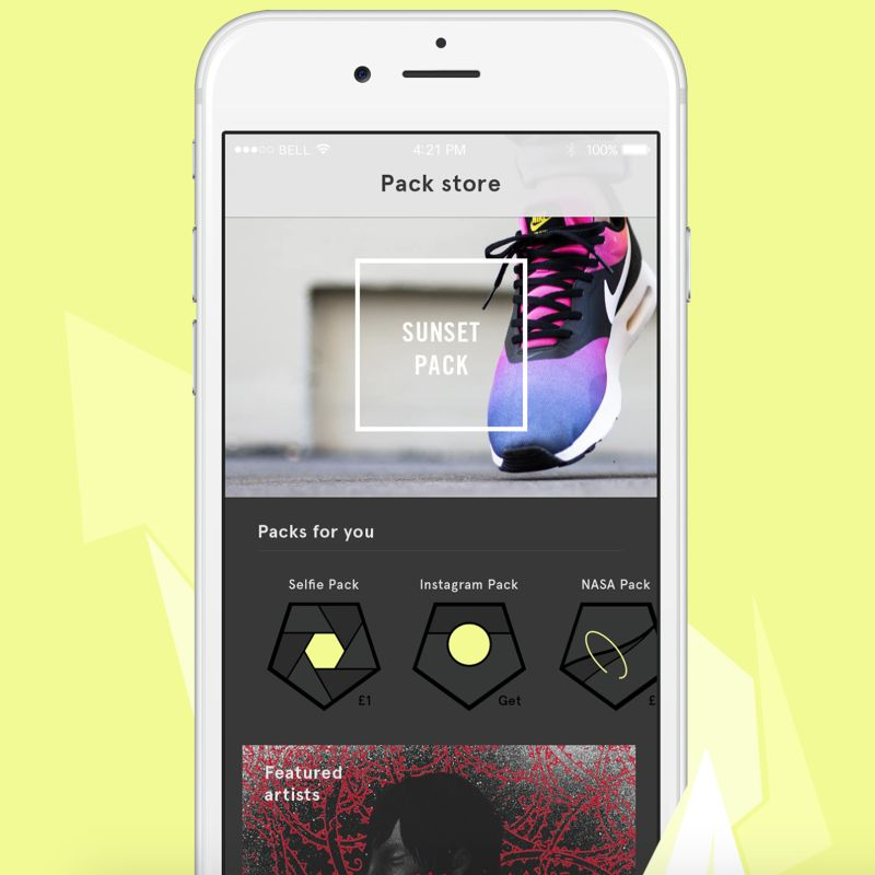 Shift: The Smart Surface Sneaker With a Design You Control