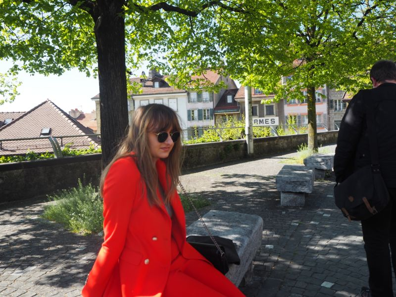 Lausanne in Red
