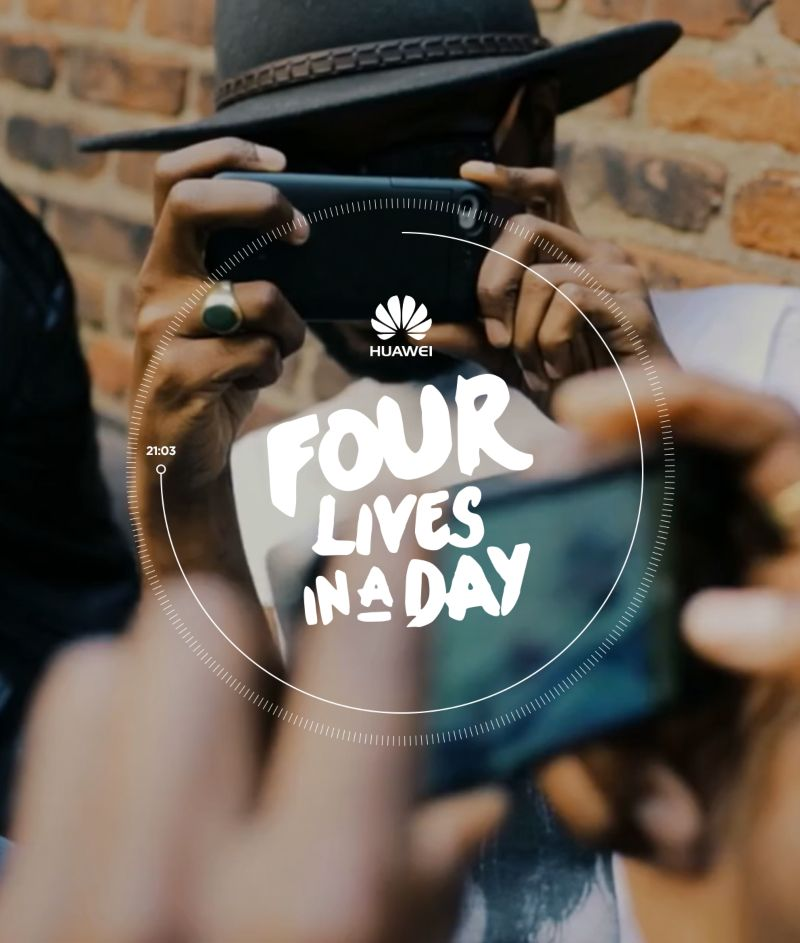 Four Lives in a Day – Huawei