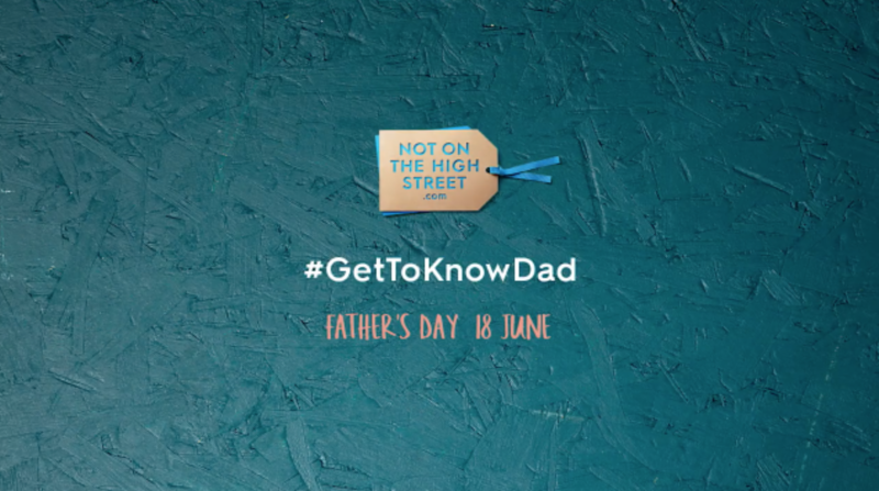 Not on the High Street, Father's Day