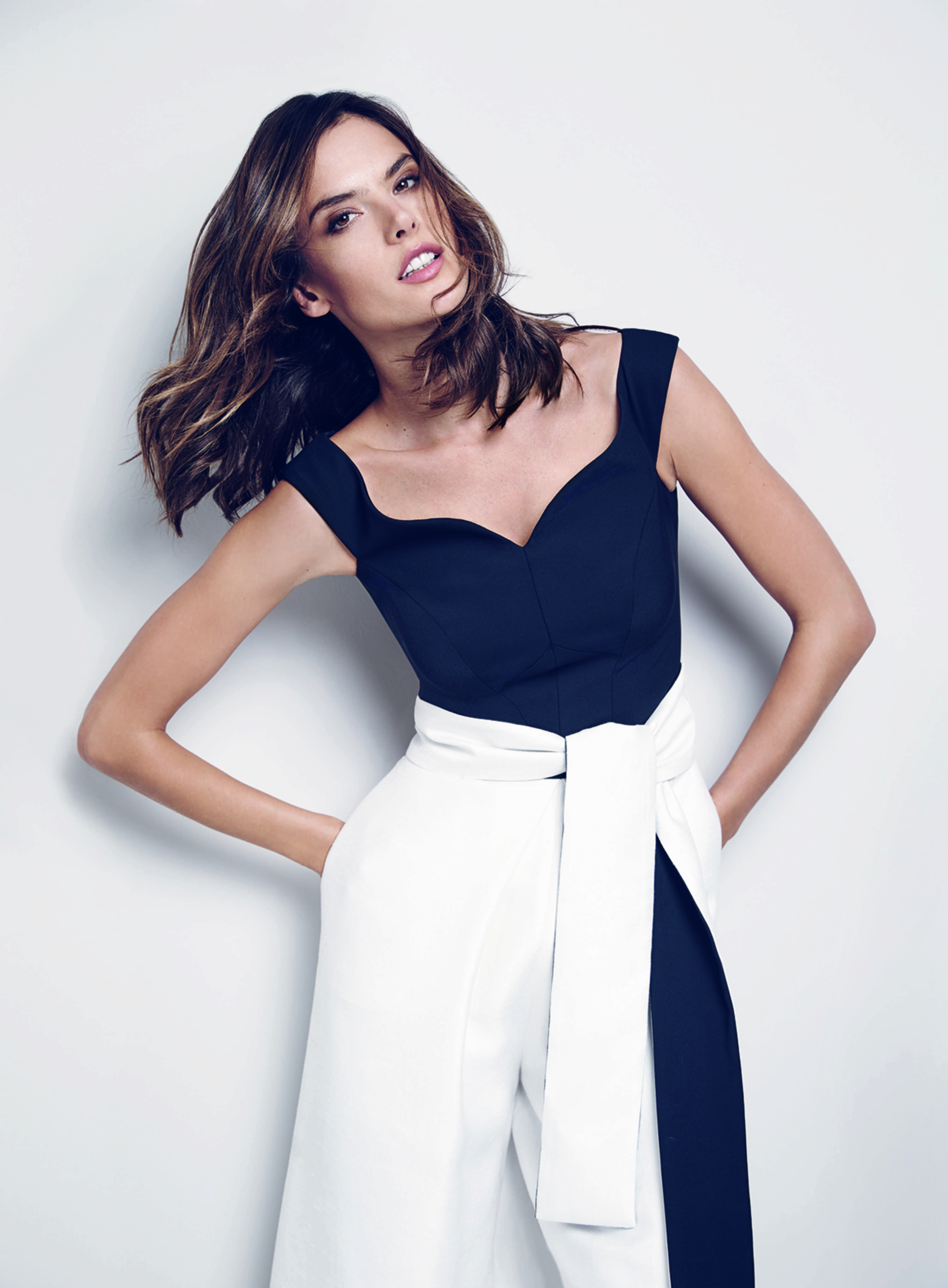 92cf1f9934a2 Create new list with Alessandra Ambrosio for Coast SS16