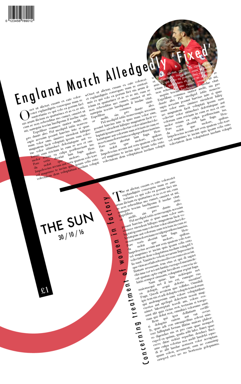 Redesigning The Sun newspaper