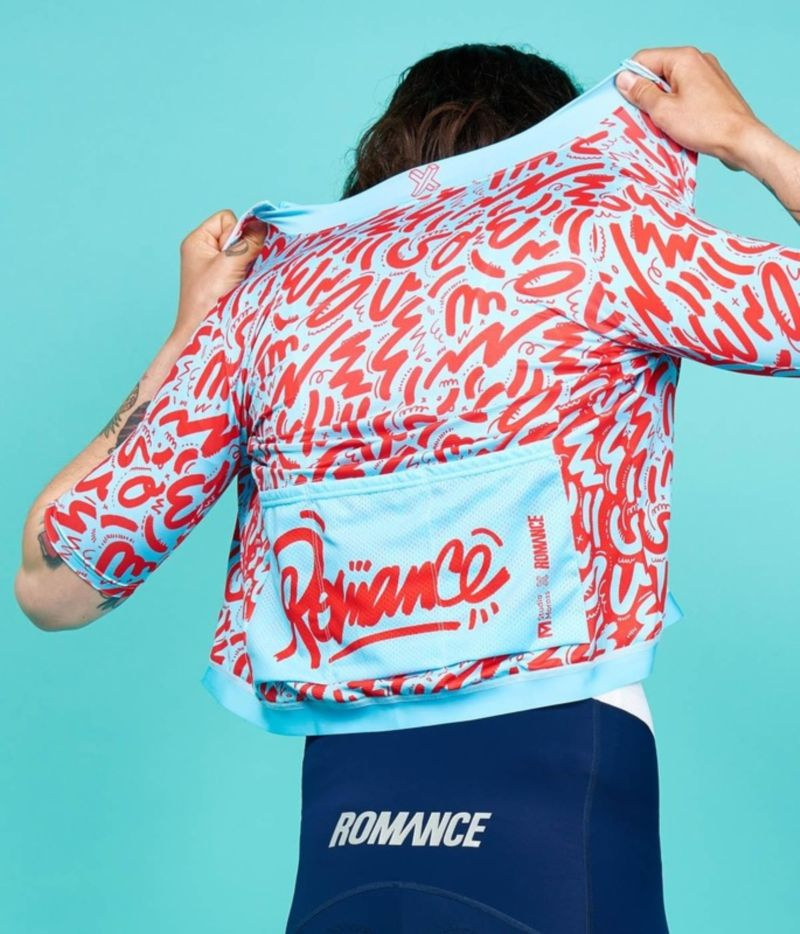 Romance x Kate Moross Cycle Jersey