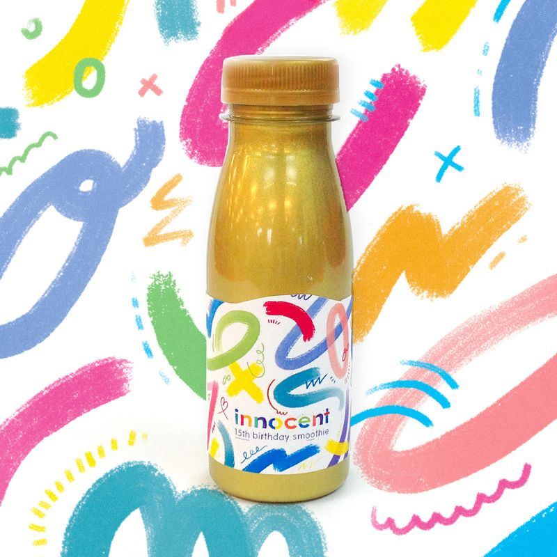 Innocent Smoothie Label Design