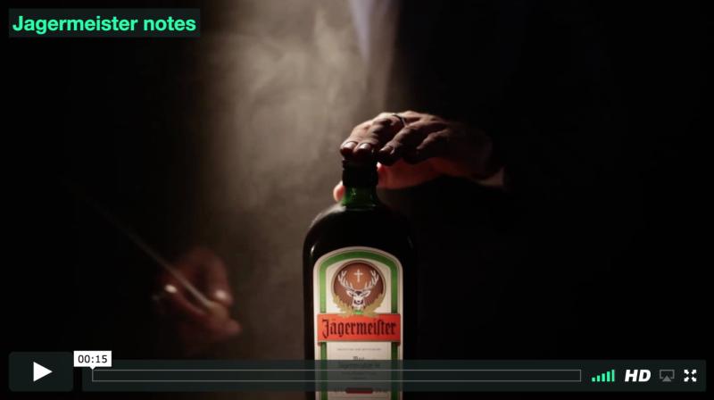 Jäger Notes Instagram Video Campaign