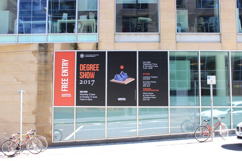 Degree Show Advertisement