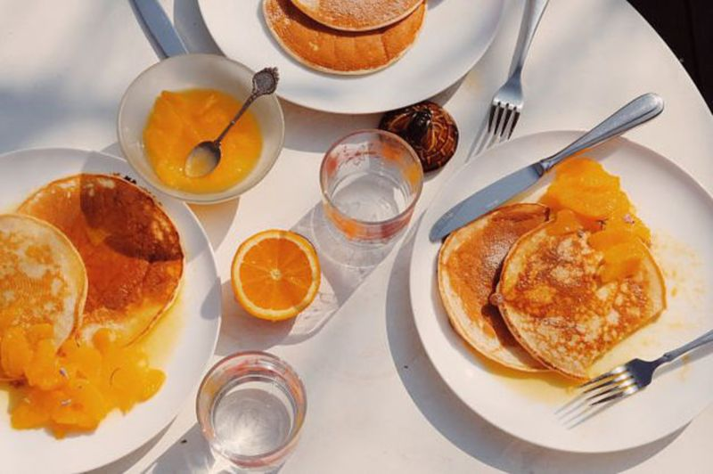 Pancakes & Oranges: my two favourite things for Women Who Cook For Me