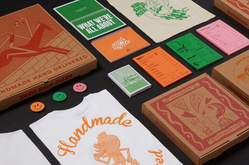 Yard Sale Pizza – Brand Identity