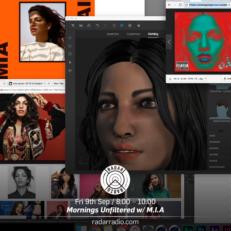 M.I.A on Mornings Unfiltered