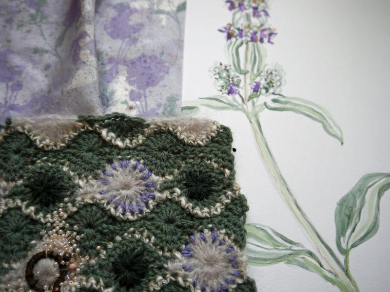 Mixed Media Textiles, Summer Florals