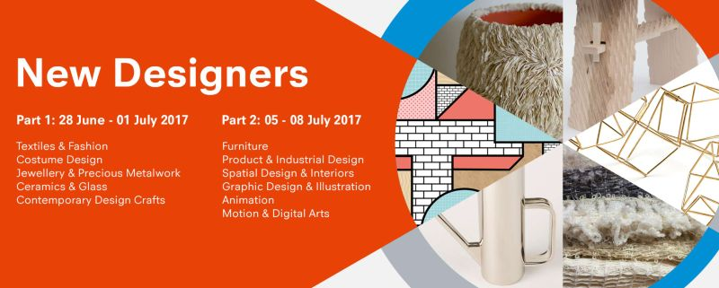 New Designers 2017 x The Dots: 'Thursday Late' panel events with ASOS, Tatty Devine, Made.com, National Theatre, John Lewis, Jelly & more!