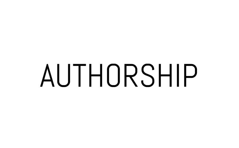 Authorship documentary