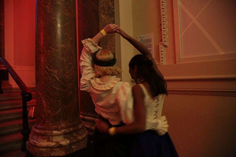 'Bal du passe' at the Royal Academy of Art