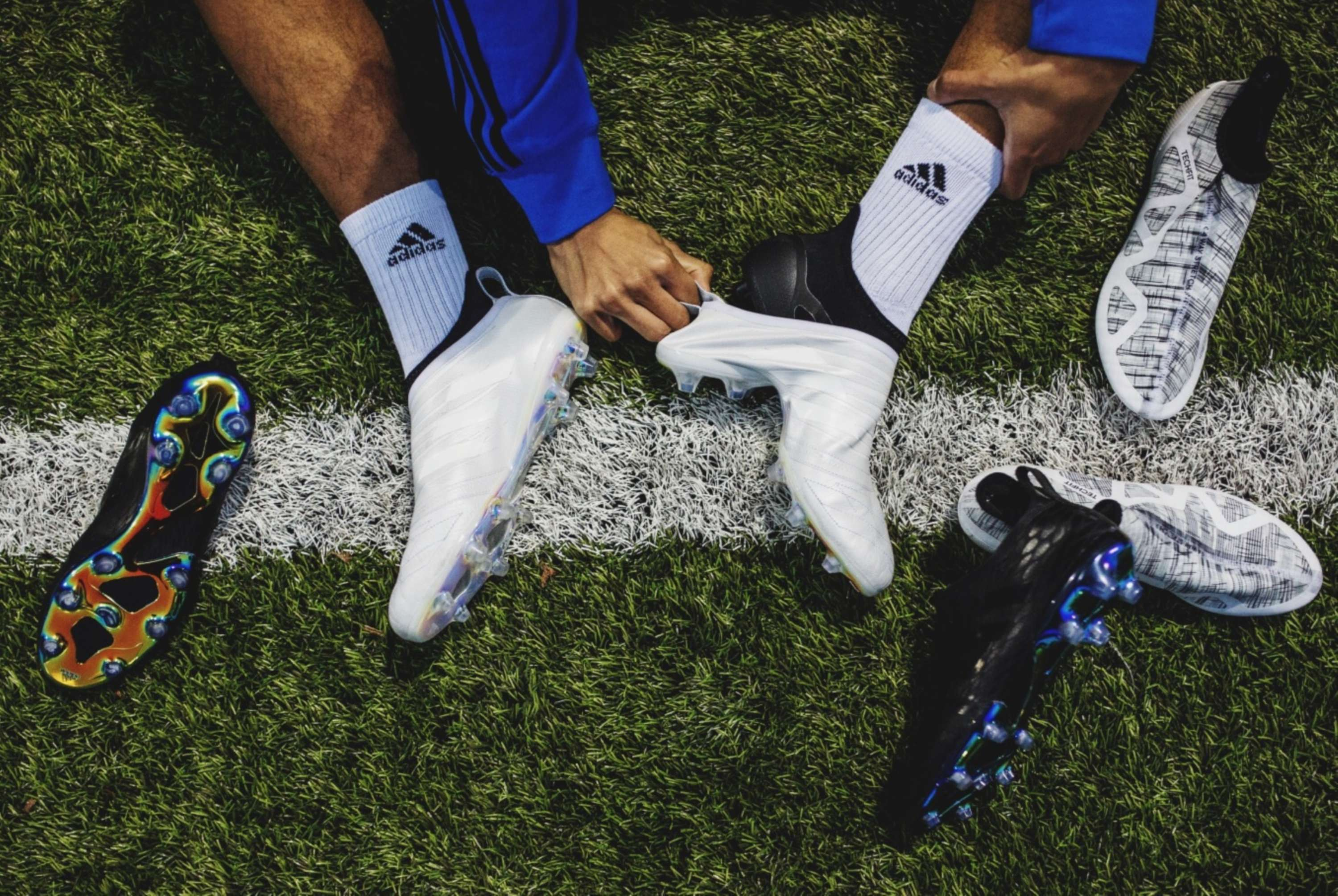 2e61bb848f14 Forget everything you know about the process of launching a product. Your  standard football boot launch has been rolled out a million times. For  GLITCH ...