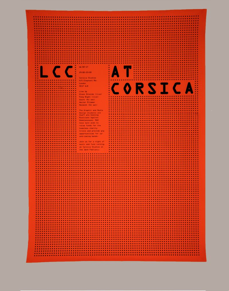 LCC at Corsica | Promotional Design