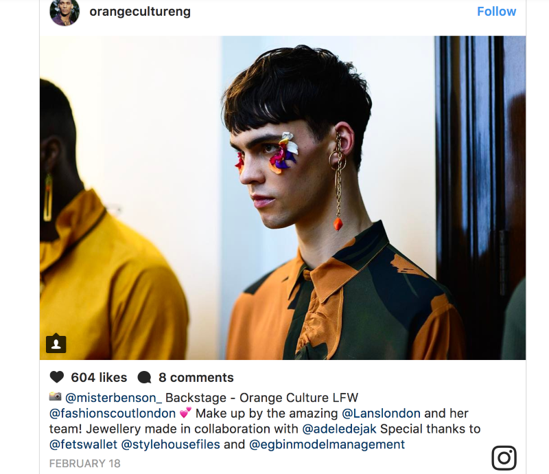 LFW 2017: Androgynous Menswear Line Orange Culture Blew All Stereotypes Out Of The Park